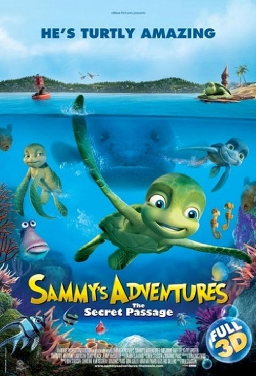 Sammy's Adventures: The Secret Passage Film Poster