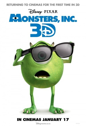Monsters, Inc. 3D Film Poster