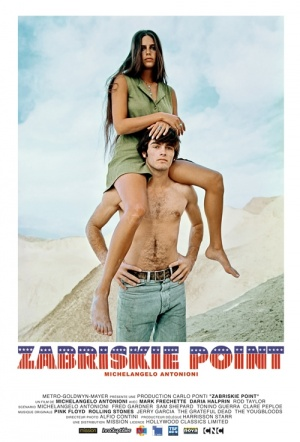 Zabriskie Point Film Poster