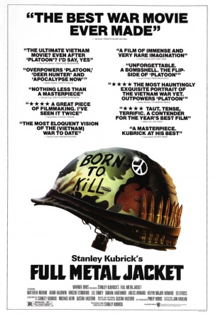 Full Metal Jacket Film Poster